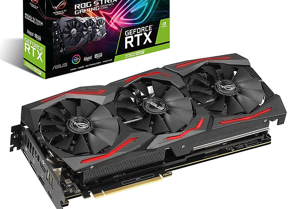 ASUS ROG STRIX GeForce RTX 2060 SUPER Advanced Overclocked 8G GDDR6 HDMI Display