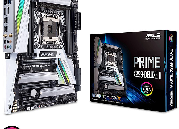 Asus Prime X299-Deluxe II Core X-series LGA2066 Intel X299 Max 128GB DDR4 Atx