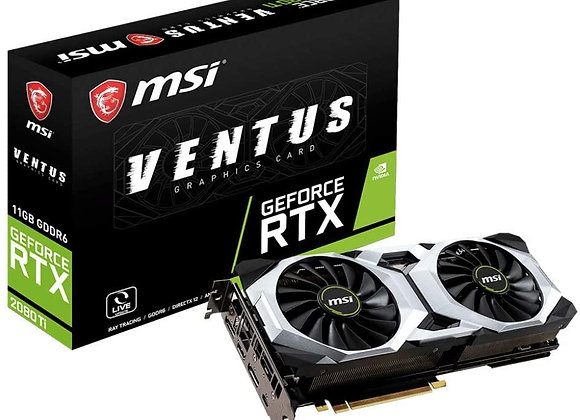 MSI Gaming GeForce RTX 2080 Ti GDRR6 352-bit HDMI/DP/USB Ray Tracing Turing