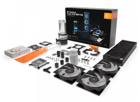 EK-Quantum Power D-RGB P360 High Performance Watercooling Kit