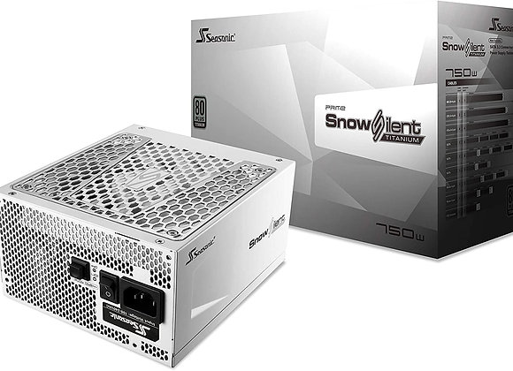 Seasonic Prime Snow Silent 750 EPS12V Full Modular 135mm FDB Fan Power Supply
