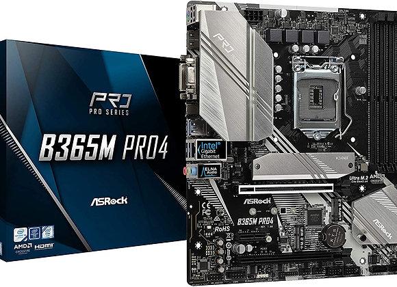 ASRock Motherboard B365M Pro4 Intel B365 S1151 DDR4 mAtx