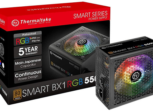 Thermaltake Smart BX1 RGB 80+ Bronze 550W SLI/Crossfire Haswell Ready Continuous
