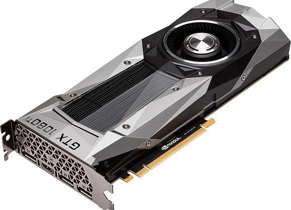 NVIDIA GeForce GTX 1080 Ti Founders Edition DirectX 12 11GB 352-Bit GDDR5X PCI