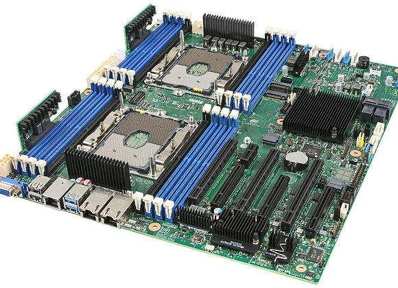 Intel Motherboard S2600STBR Server Board Sawtooth Pass NO CPU 0.00Ghz