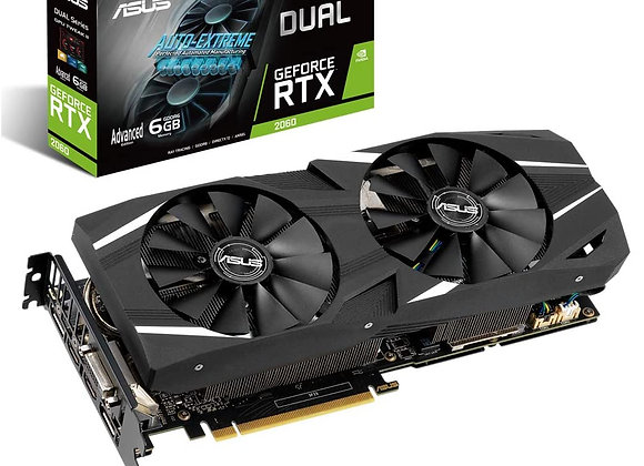 ASUS GeForce RTX 2060 Advanced Overclocked 6G GDDR6 Dual-Fan Edition VR Ready