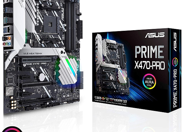 ASUS X470-Pro Prime AMD AM4 ATX Motherboard