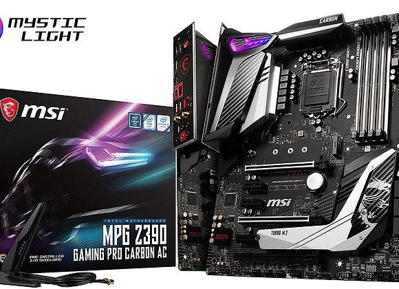 MSI MPG Z390 Gaming PRO Carbon AC LGA1151 (Intel 8th and 9th Gen) M.2 USB 3.1