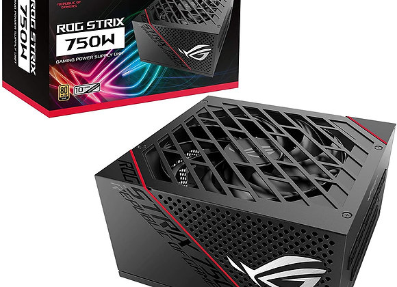 ASUS ROG Strix 750 Watt 80 Plus Gold ATX Fully Modular Power Supply