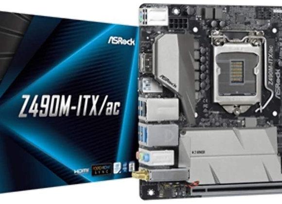 ASRock Z490M-ITX/ac Supports 10 th Gen Intel Core Processors (Socket 1200)