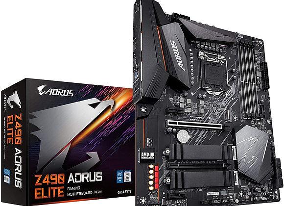 GIGABYTE Z490 Aorus Elite (Intel LGA1200/Z490/ATX/2xM.2/Realtek ALC1200/SATA)