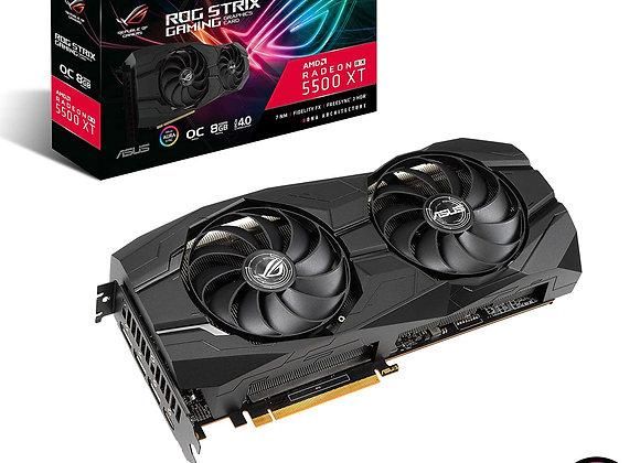 ASUS Radeon RX 5500 XT ROG Strix Overclocked Triple-Fan 8GB GDDR6 PCIe 4.0