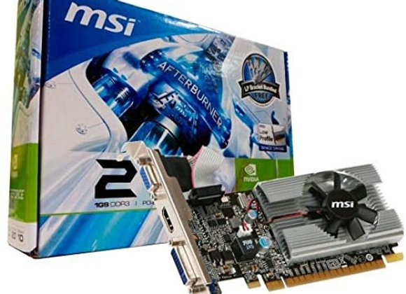 MSI Geforce 210 1024 MB DDR3 PCI-Express 2.0 Graphics Card MD1G/D3
