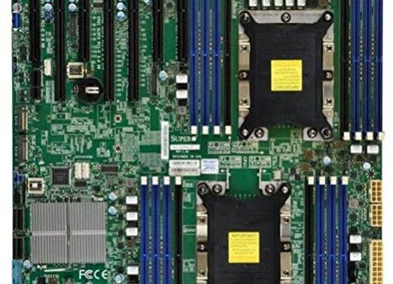 Supermicro X11DPH-T-B Dual LGA3647/ Intel C624/ DDR4/ SATA3&USB3.0/ V&2GbE/ EAtx