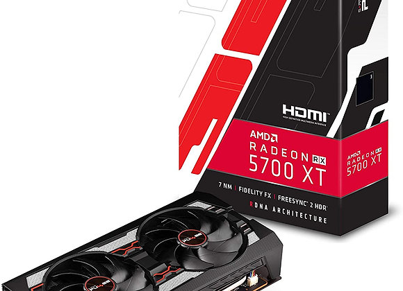 Sapphire Technology Radeon RX 5700 XT Pulse Overclocked Dual-Fan Graphics Card