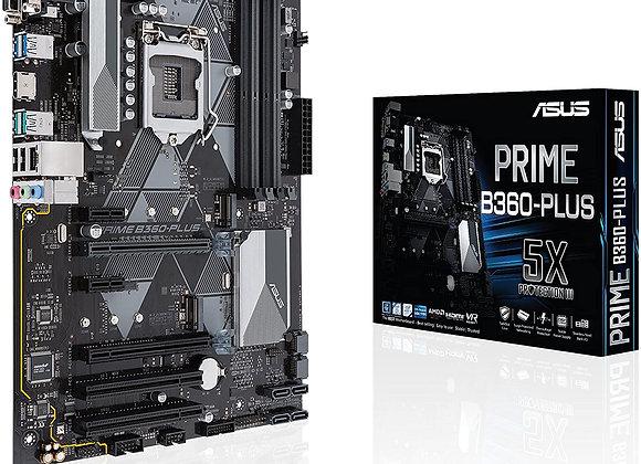 Asus Prime B360-Plus Intel B360 LGA 1151 (Socket H4) ATX