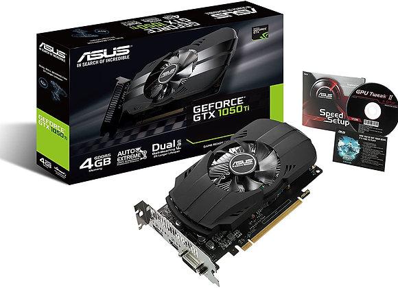 Asus GeForce GTX 1050 Ti 4GB Phoenix Fan Edition DVI-D HDMI DP 1.4 Gaming