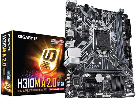 Gigabyte H310M A 2.0 Intel LGA 1151 mATX Motherboard