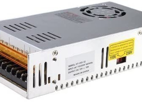 MENZO 12v 30a Dc Universal Regulated Switching Power Supply 360w for CCTV, Radio