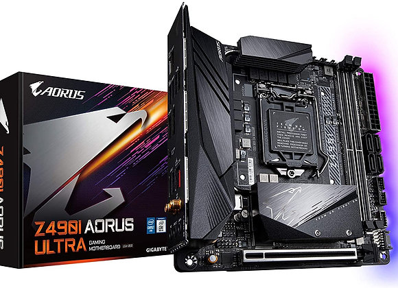 Gigabyte Z490I Aorus Ultra Intel LGA 1200 mini ITX Motherboard