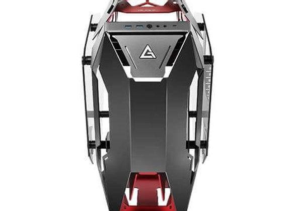 Antec Case Torque Tempered glass Aluminum Mid Tower Red/blk E-ATX/ATX/mATX/ITX