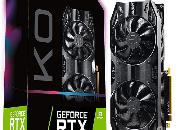 EVGA GeForce RTX 2080 SUPER KO GAMING Dual-Fan 8GB GDDR6 PCIe 3.0 Graphics Card