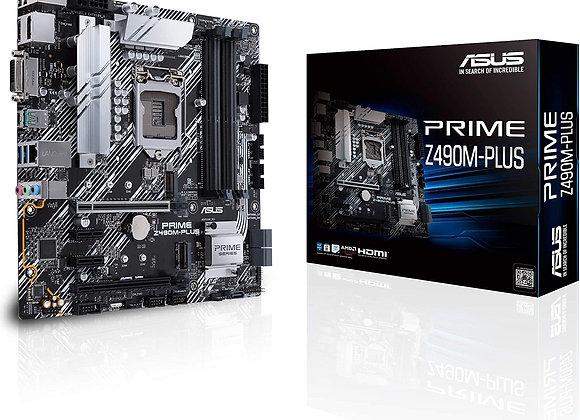 ASUS Prime Z490M-PLUS LGA 1200 (Intel 10th Gen) Z490 Micro ATX Motherboard