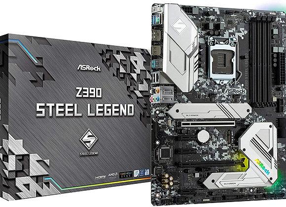 ASRock Intel 8th & 9th Generation CPU (Soket 1151) Z390 Chipset ATX Motherboard