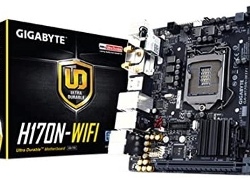 Gigabyte LGA1151 Intel H170 Mini-ITX DDR4 Motherboard