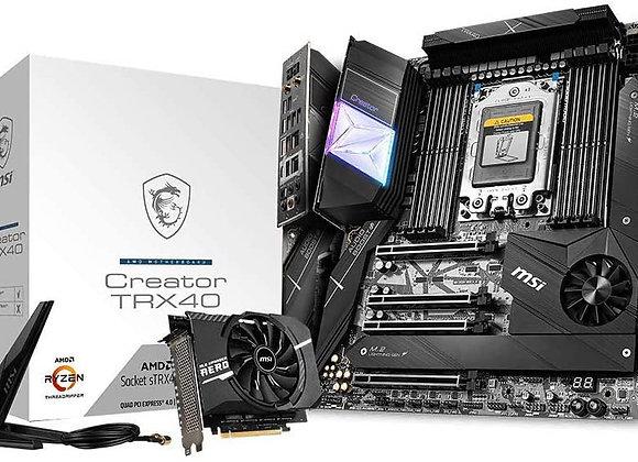 MSI TRX40 Creator AMD sTRX4 Atx Motherboard