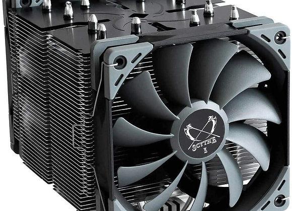 Scythe Ninja 5 Air CPU Cooler, 120mm Single Tower, Intel LGA1151, AMD AM4, Dual