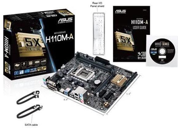 Asus H110M-A LGA 1151 Intel H110 HDMI Sata 6Gb/s Micro-ATX DDR4 Motherboard