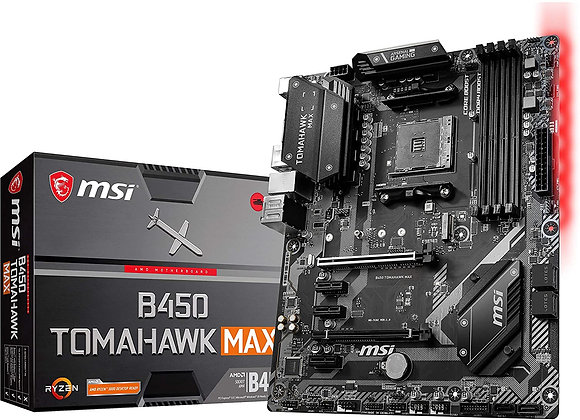 MSI B450 Tomahawk Max AMD AM4 ATX Motherboard