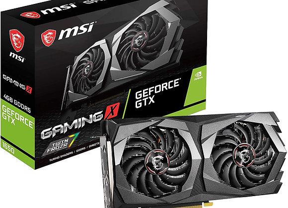 MSI Gaming GeForce GTX 1650 128-Bit HDMI/DP 4GB GDRR5 HDCP Support DirectX 12