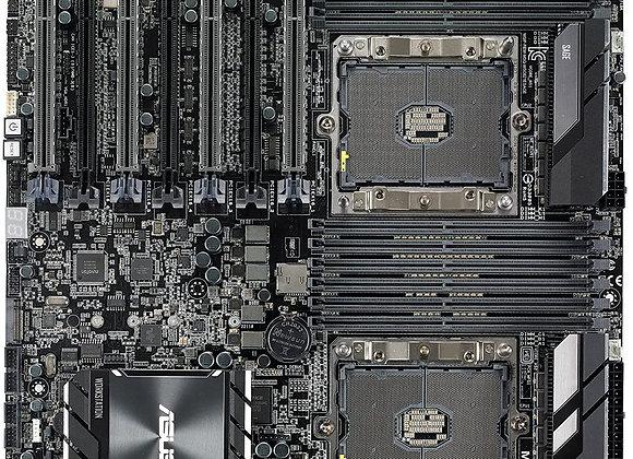 Asus Motherboard WS C621E SAGE(BMC) DP XEON C621 EEB BMC 7PCIE Brown Box
