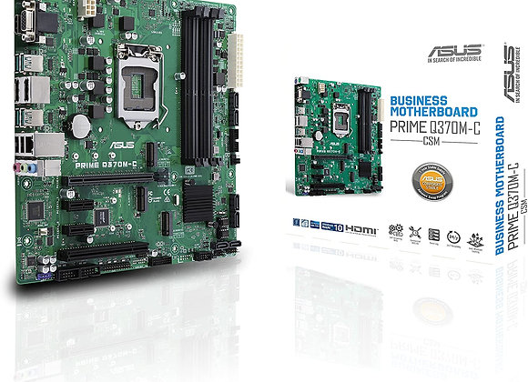 Asus Prime Q370 Core i7/i5/i3 S1151 Max.64GB DDR4 PCI Express SATA Window10