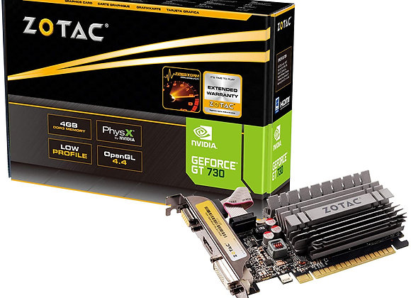 ZOTAC GeForce GT 730 Zone Edition 4GB DDR3 PCI Express 2.0 x16 (x8 lanes)