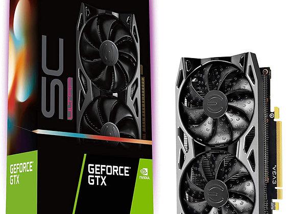 EVGA GeForce GTX 1660 SC Ultra Dual-Fan 6GB GDDR5 PCIe 3.0 Graphics Card