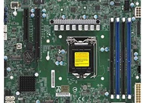 Supermicro MBD-X11SCH-F-O E-2100 LGA1151 C242 128GB DDR4 PCI Express mAtx