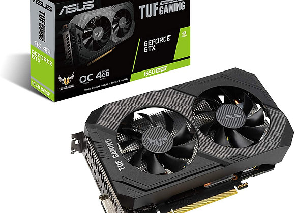 ASUS GeForce GTX 1650 SUPER TUF GAMING Overclocked Dual-Fan 4GB GDDR6 PCIe 3.0