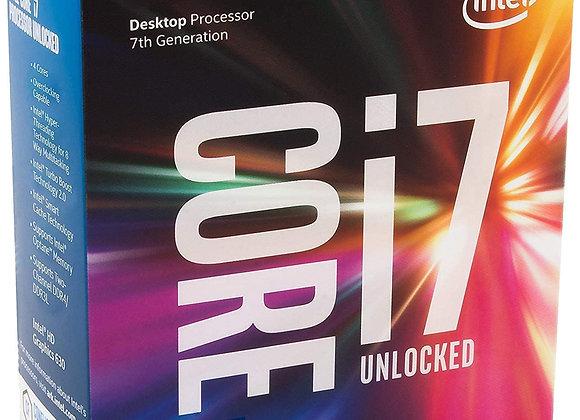 Intel Core i7-7700K Desktop Processor 4 Cores up to 4.5 GHz unlocked LGA 1151