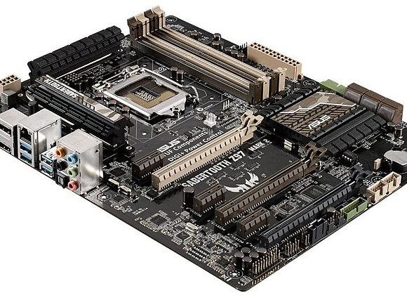ASUS TUF Sabertooth Z97 Mark 2 LGA1150 DDR3 SATA 6Gb/s USB 3.0 Intel Z97 ATX