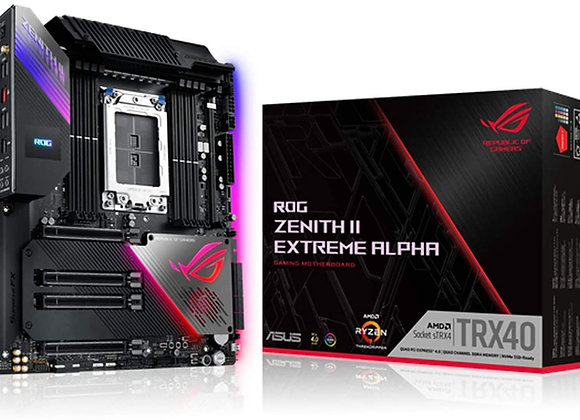 ASUS TRX40 ROG Zenith II Extreme Alpha AMD sTRX4 EATX Motherboard