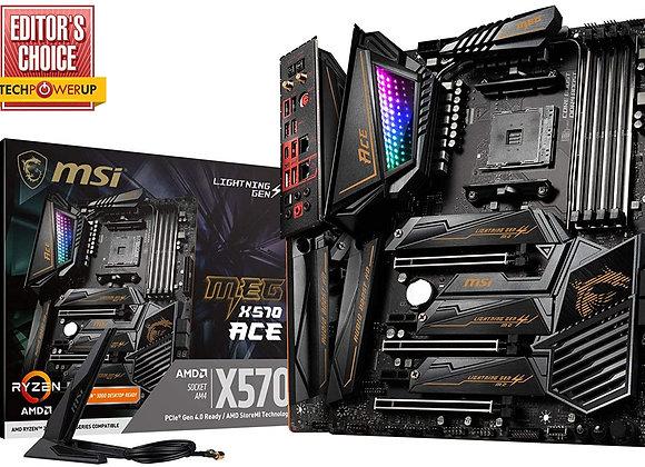 MSI X570 Meg Ace AMD AM4 Atx Motherboard