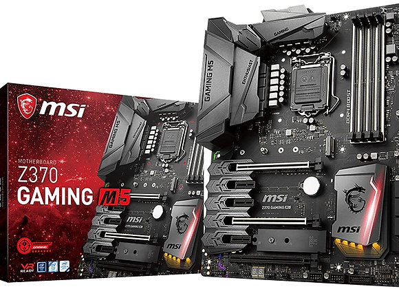 MSI Enthusiast Gaming Intel 8th Gen LGA 1151 M.2 HDMI DP USB 3.1 Gigabit LAN SLI