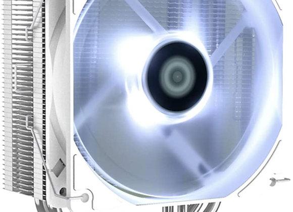 ID-COOLING White CPU Cooler AM4 CPU Cooler 4 Heatpipes CPU Air Cooler 120mm PWM