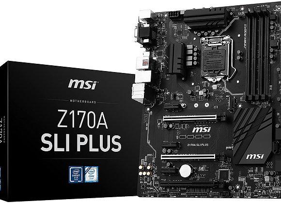MSI Pro Solution Intel Z170A LGA 1151 DDR4 USB 3.1 ATX Motherboard