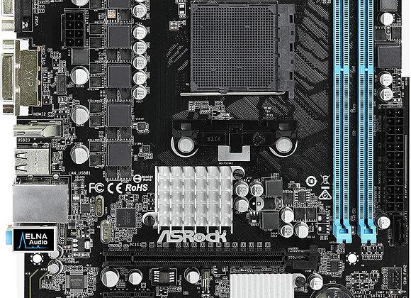 ASRock 760GM-HDV Socket AM3+/AM3/ AMD 760G/ DDR3/ SATA2&USB2.0/ A&V&GbE/MicroATX