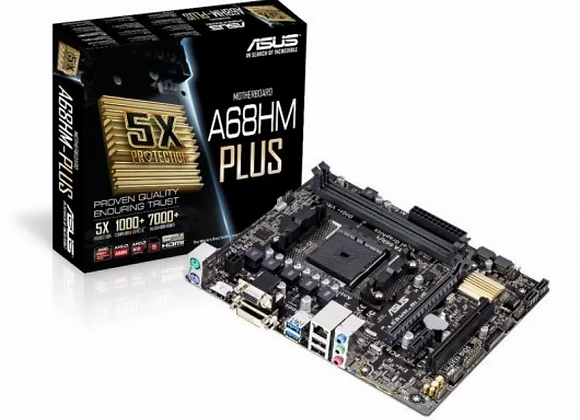 ASUS Micro ATX DDR3 2400 NA Motherboards A68HM-Plus
