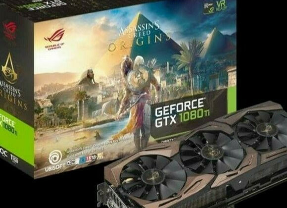 ASUS GTX 1080 Ti Assassin's Creed ASUS ROG Strix GEFORCE 11G